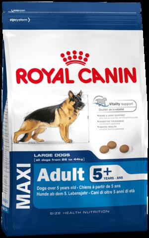 Royal Canin Maxi Adult 5+ 15 кг