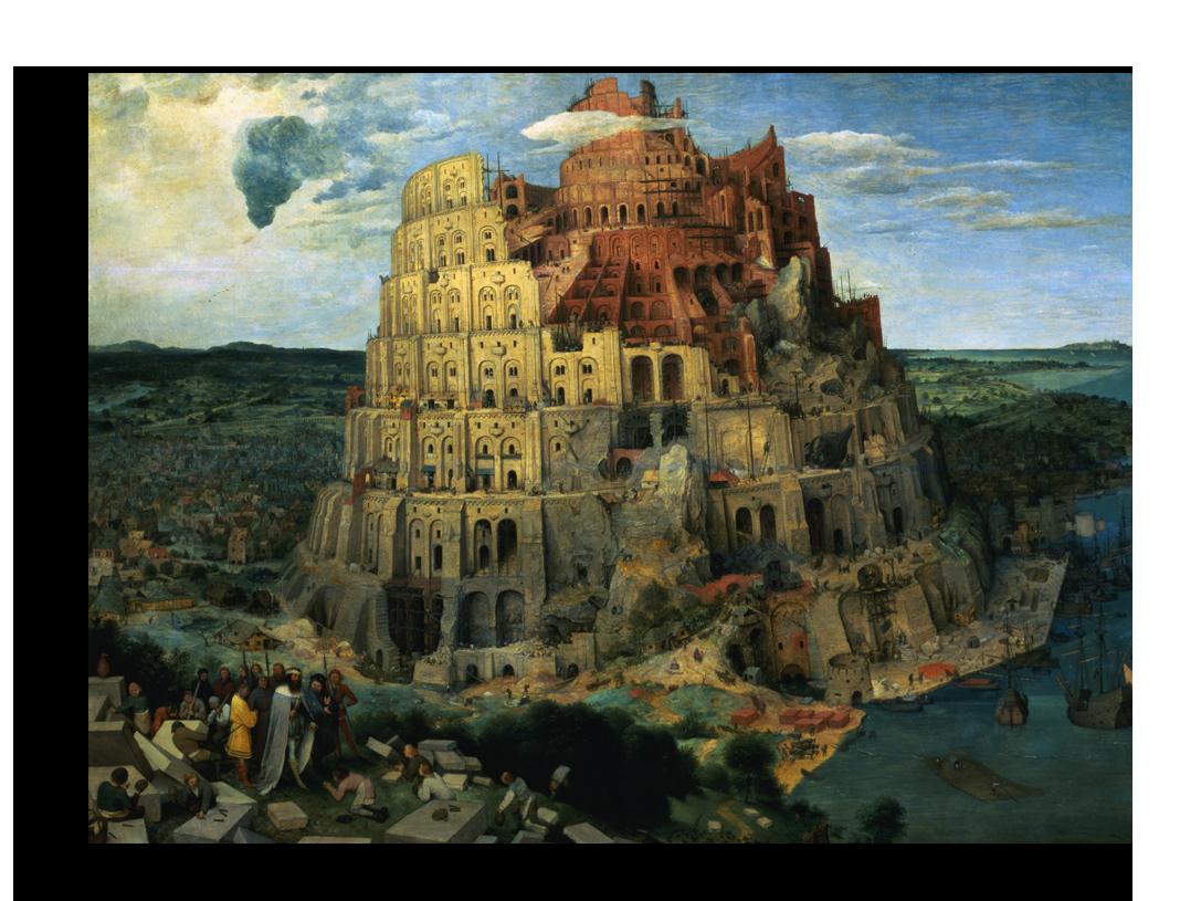 """Репродукции Репродукция """"Питер Брейгель - Башня Вавилона"""" Х257.png"""