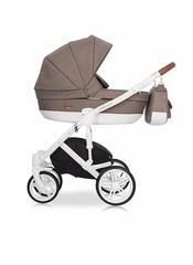 Детская коляска RIKO NATURO 2в1 цвет 03 коричневый-латте