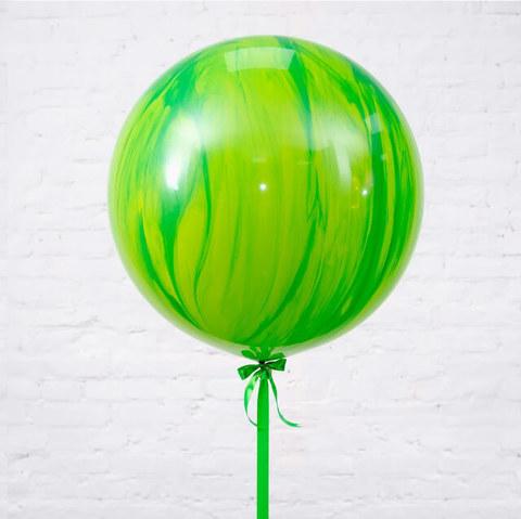 Большой шар Зелёный-Агат