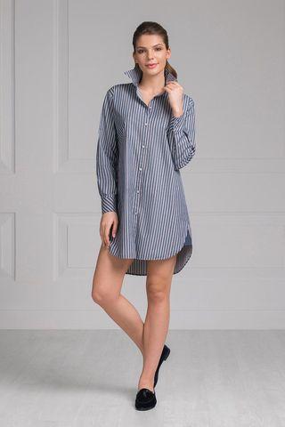 Сорочка 61408 серый Laete