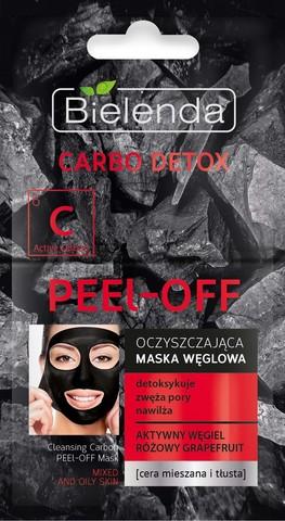CARBO DETOX Очищающая угольная маска PEEL – OFF, 2х6 г