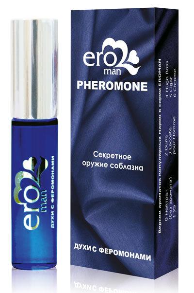 Духи с феромонами для мужчин Eroman №5 - 10 мл.