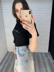 джинсовая юбка с пуговицами интернет магазин