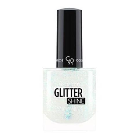 Гель-лак Glitter Shine Nail Lacquer Golden Rose, 203