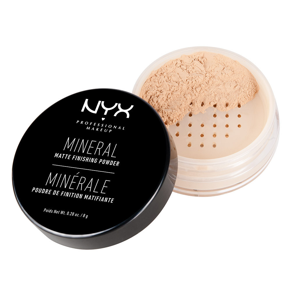 Пудра минеральная NYX 01