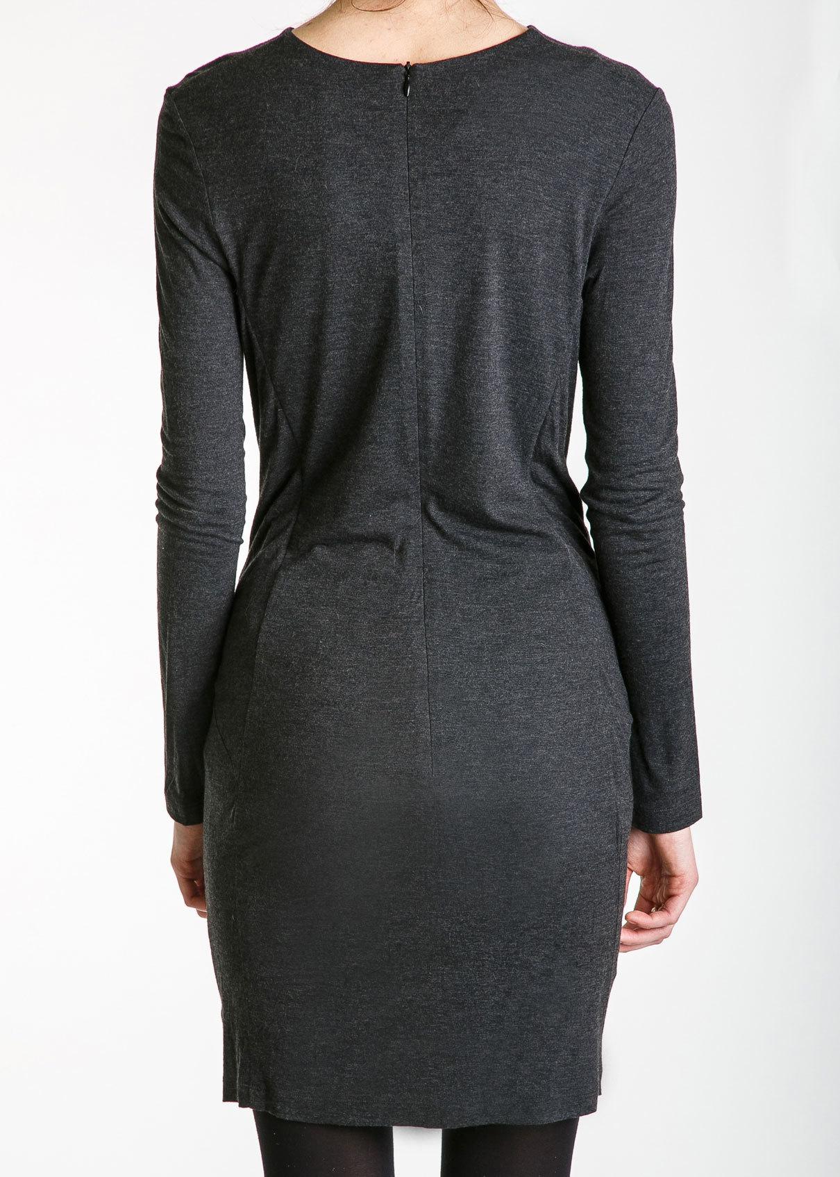 Платье из шерсти и вискозы CHALAYAN