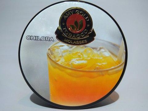 Табак для кальяна AMY GOLD Chilora 200 gr