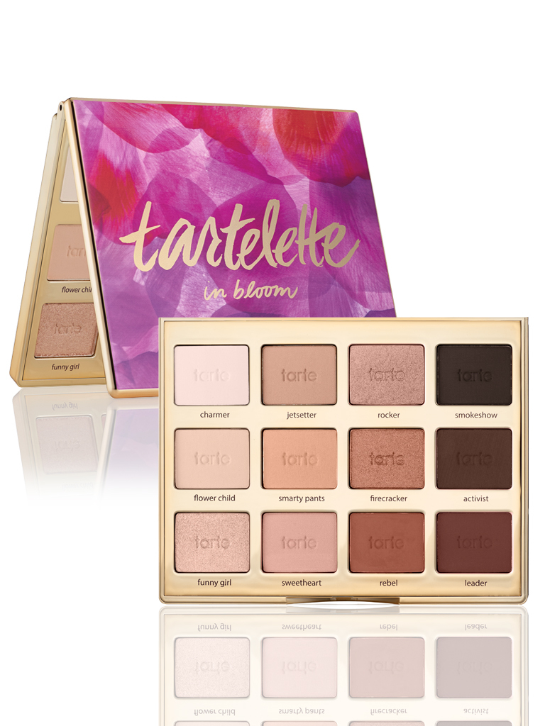 Палетка теней Tartelette in Bloom Clay Palette