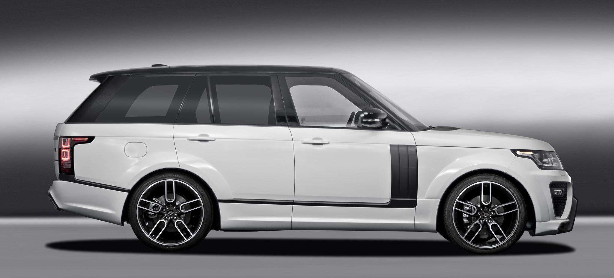 Обвес Caractere Exclusive на Range Rover Vogue