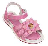 Босоножки Винкс (Winx) на липучках с открытым носком и пяткой для девочек, цвет розовый. Изображение 1 из 8.