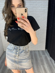 джинсовая юбка с пуговицами nadya