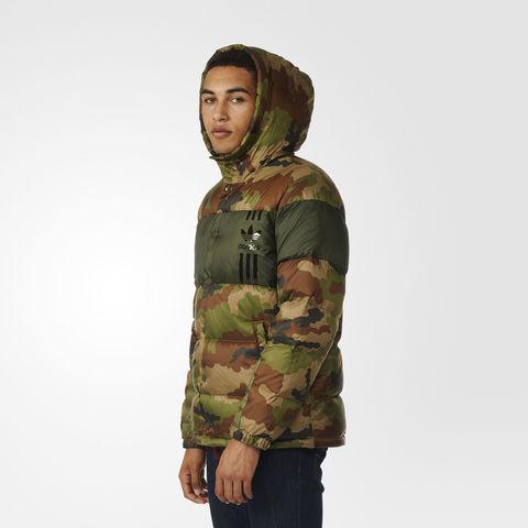 Куртка мужская adidas ORIGINALS ID96 DOWN CAMO