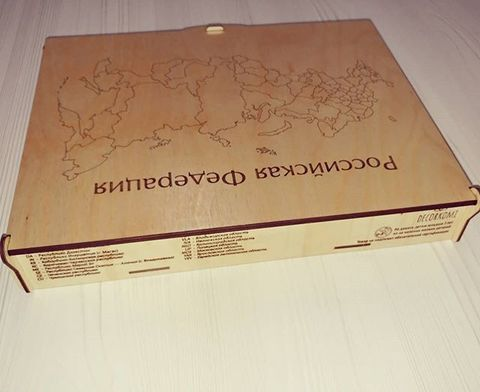 коробка для средней и большой карты