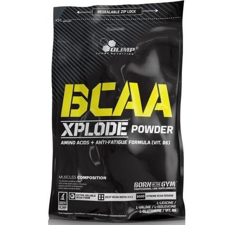 OLIMP BCAA Иксплойд банка 1000 г лимон