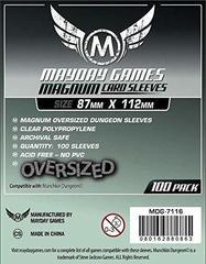 Протекторы для настольных игр Mayday Magnum Oversized Dungeon (87x112) - 100 штук