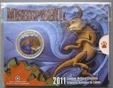 K8762, 2011, Канада, 25 центов Мистические существа - Mishepishu Блистер