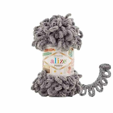 Купить Пряжа Alize Puffy Код цвета 535 Коала | Интернет-магазин пряжи «Пряха»