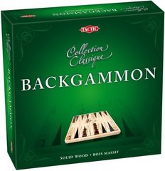 Backgammon in cardbord box