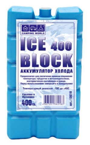 Аккумулятор холода Camping World Iceblock (400 гр.)
