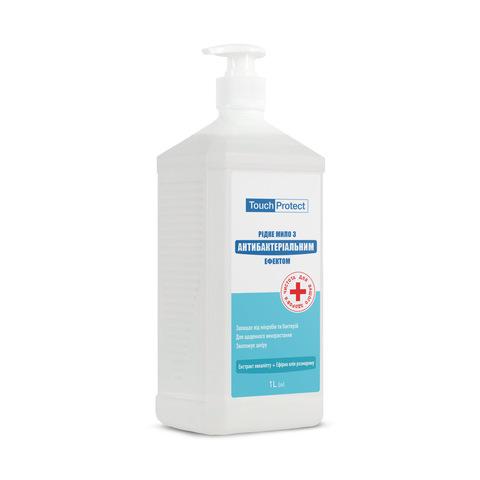 Жидкое мыло с антибактериальным эффектом Эвкалипт-Розмарин Touch Protect 1 L (1)