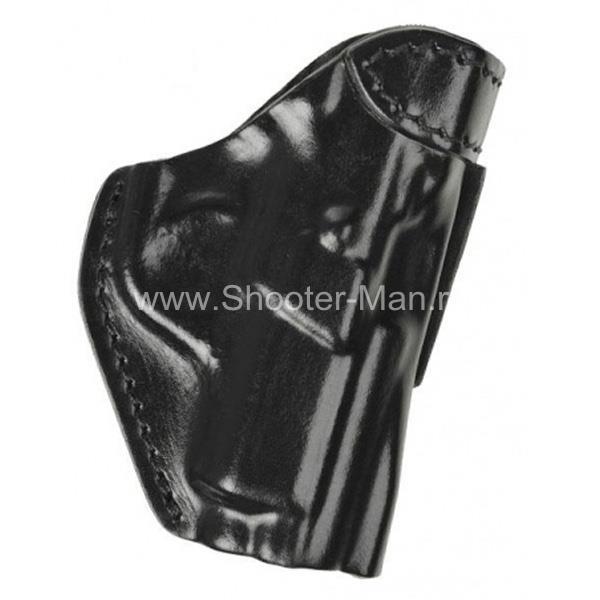 Кожаная кобура на пояс для пистолета Tanfoglio INNA ( модель № 7 ) Стич Профи