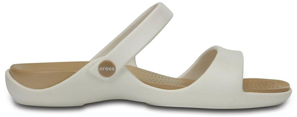 Сандалии Crocs Cleo V Sandal W Oyster/Gold
