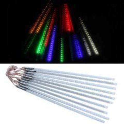 Светодиодная гирлянда тающая сосулька 50 см LED