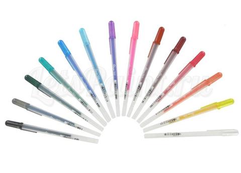 Ручка-контур GLAZE 3D-ROLLER, упаковка 12 шт