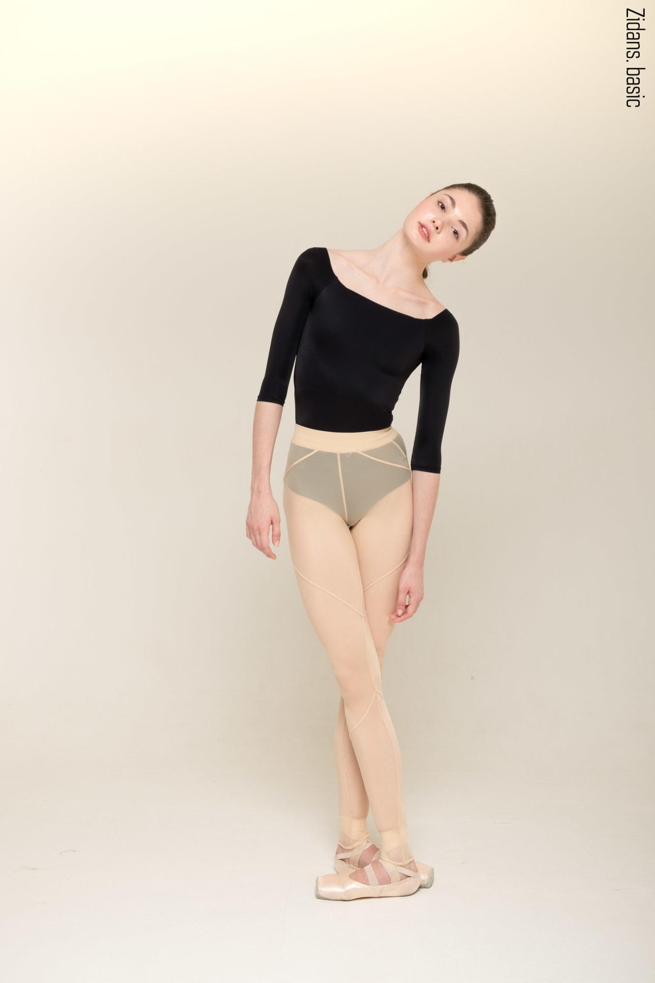 Translucent leggings Zi'ggins | nude