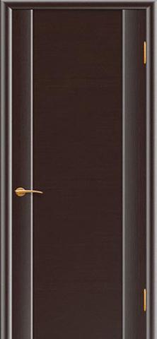 Дверь Плаза 3 (венге, глухая шпонированная), фабрика Покрова
