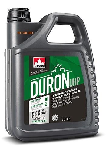 DURON UHP E6 5W-30 моторное масло для дизельных двигателей Petro-Canada (5 литров)