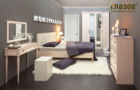 Спальня MONTPELLIER-1 Глазов дуб млечный