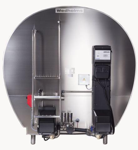 7000 литров   Передняя сторона танка охладителя молока Ведхолмс АБ