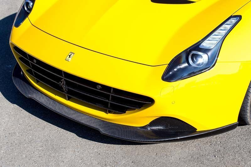 Карбоновый спойлер переднего бампера Novitec Style для Ferrari California