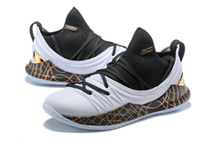 Under Armour Curry 5 Low 'White/Black/Gold'