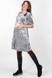 Платье для беременных 09087 серый