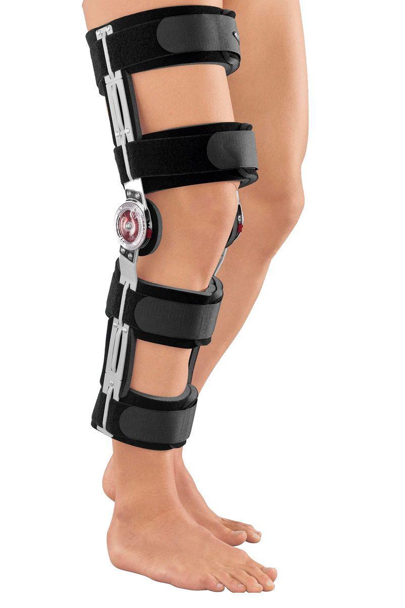 Брейсы (с регулировкой углов сгибания/разгибания) Облегченный реабилитационный коленный ортез с регулятором Medi protect.ROM Cool fa170f095f74b9a3ee9f4b6797cd1ddc.jpg