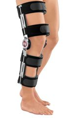 Облегченный реабилитационный коленный ортез с регулятором Medi protect.ROM Cool