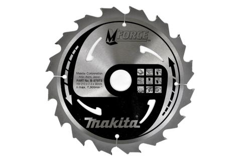 Пильный диск по дереву Makita M-FORCE 235х30х2,3 мм/24