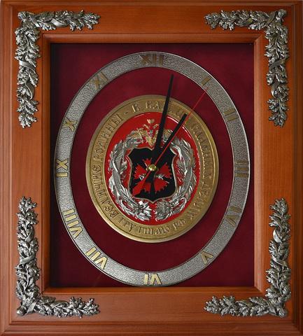 """Часы настенные """" 100 лет ГРУ"""""""