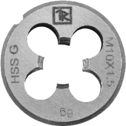 MDG305 Плашка D-DRIVE круглая ручная с направляющей в наборе М3х0.5, HSS, Ф25х9 мм