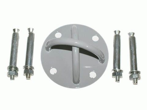 Крепление настенное/потолочное для эспандеров. Позволяет крепить практически любой эспандер в стене (потолку). В комлпекте 4 анкерных болта. :(U04):