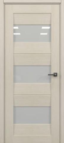 Дверь 2/23 (орех капучино, остекленная экошпон), фабрика Ладора