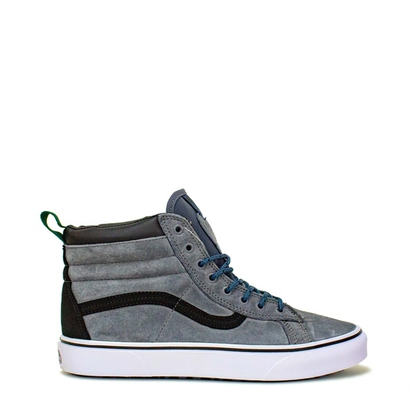 Купить Vans Off the Wall из серой замши 2367-9987