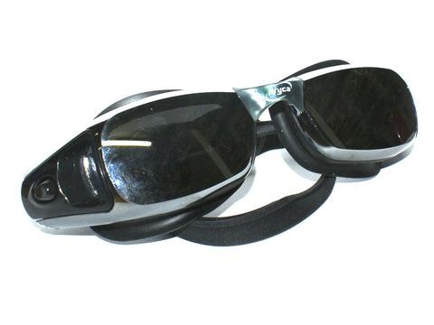 Очки для плавания  зеркальные, в комплекте беруши. Материал: силикон, пластик. Пластиковая коробка. :(WG62A):