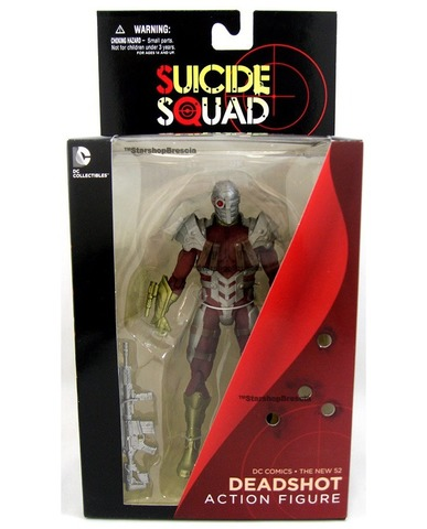 New 52 Super Villains Suicide Squad Deadshot