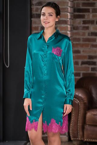 Рубашка Bella 3377 Emerald Mia-Amore