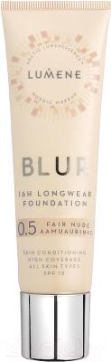 Тональный крем для лица Lumene Blur SPF15 0.5 Fair Nude 30 мл