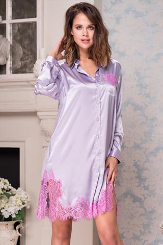 Рубашка Bella 3377 Lavender Mia-Amore